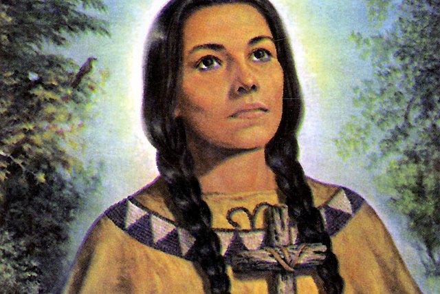 Kateri Tekakwitha... (Image Les Archives des Jésuites du Canada)