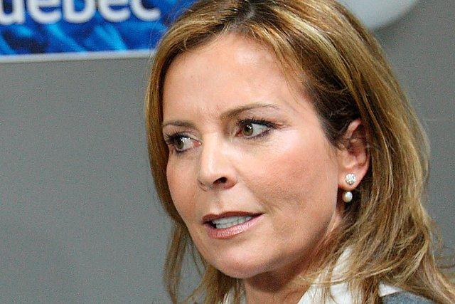 La  conseillère municipale indépendante Anne Guérette... (Le Soleil, Pascal Ratthé)