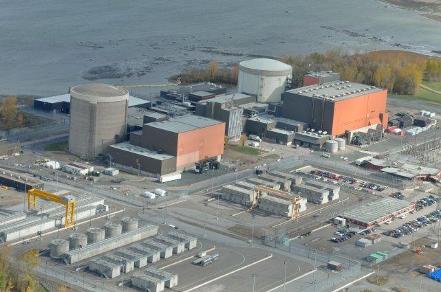 Selon Hydro-Québec, la fermeture de la centrale est... (Photo: Émilie O'Connor)