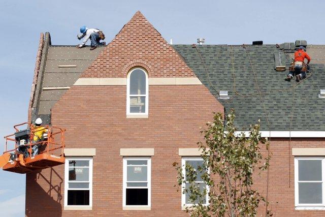 Les dépenses de construction aux États-Unis ont légèrement progressé en avril,... (Photo Reuters)