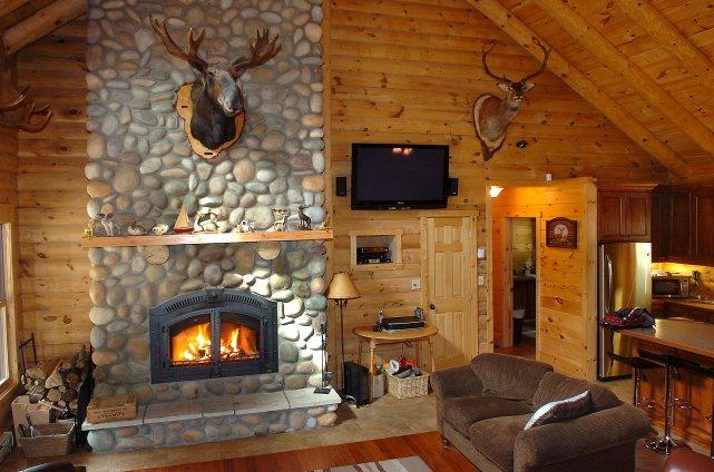 Un domaine de chasse trad chic de luxe sophie gall for Decoration maison chasse