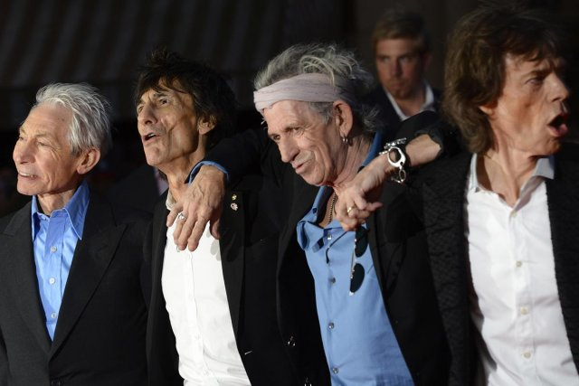 Charlie Watts, Ronnie Wood, Keith Richards et Mick... (Photo: Reuters)