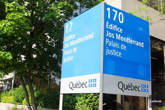 Un homme s'est introduit dans le palais de justice de Gatineau avec l'intention... (Archives, LeDroit)