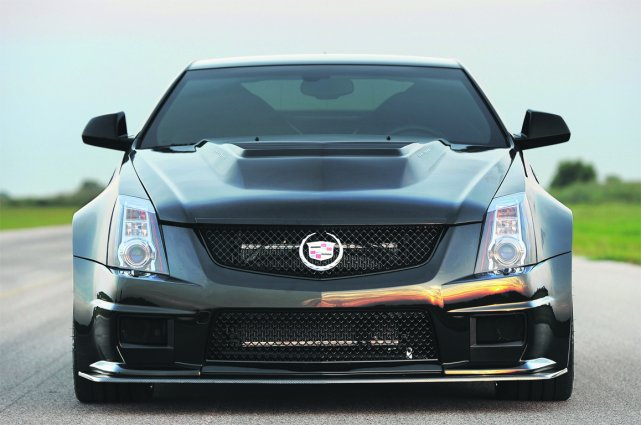 La Cadillac CTS-VR 1200 Hennessey, un monstre de... (Photo fournie par Hennessey Performance Cars)