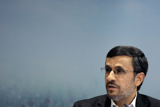Le président iranien Mahmoud Ahmadinejad.... (PHOTO VAHID SALEMI, ASSOCIATED PRESS)