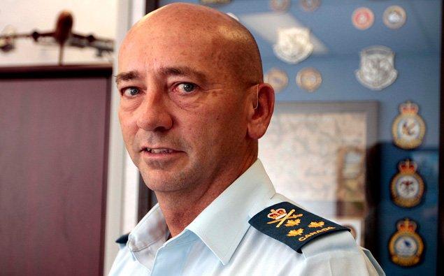 Le 27 september dernier, le lieutenant-général Yvan Blondin... (Étienne Ranger, LeDroit)