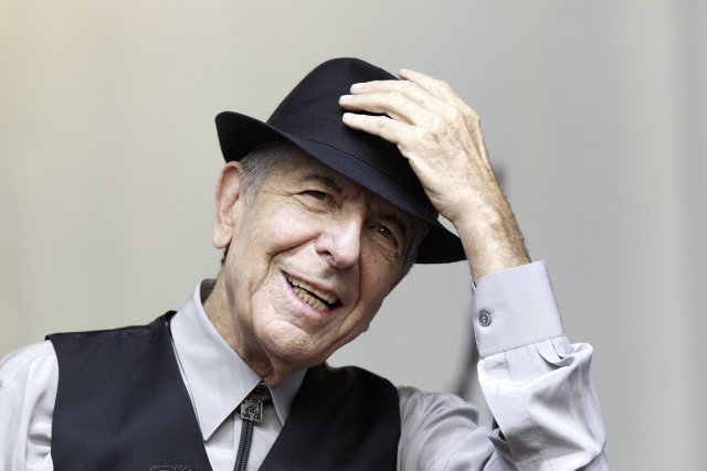 Leonard Cohen... (Photo AFP)
