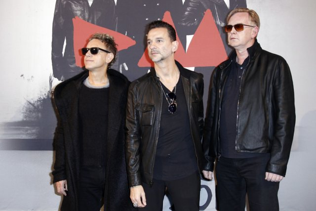 Depeche Mode... (Photo Reuters)