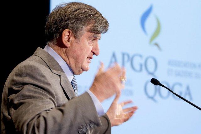 Le président de l'APGQ, Lucien Bouchard.... (Photothèque La Presse)