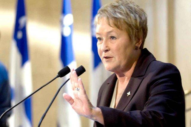 Consolation pour Pauline Marois, si des élections s'étaient... (Photo La Presse Canadienne)