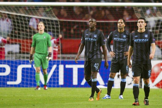 Manchester City se retrouve dans une situation désespérée... (Photo: Reuters)