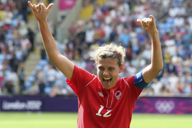 Christine Sinclair... (Photo: PC)