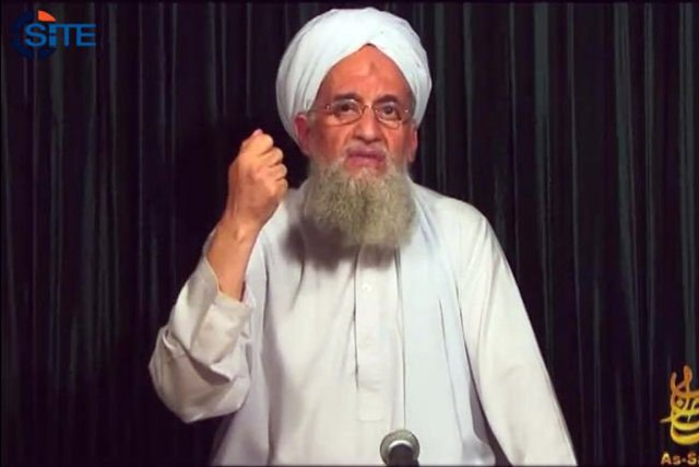 Le chef d'Al-Qaïda, Ayman al-Zawahiri.... (PHOTO AFP/ SITE INTELLIGENCE GROUP)