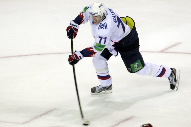 Evgeni Malkin joue pour le Metallurg de Magnitogorsk... (Photo: Reuters)
