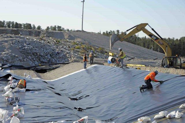 La Régie des matières résiduelles du Lac-Saint-Jean (RMR) écrit présentement le... (Photo Gimmy Desbiens, Le Quotidien)