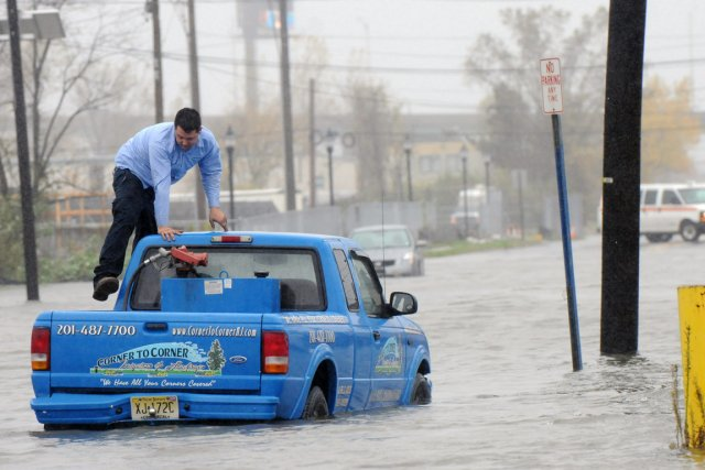 South River Street, au centre d'Hackensack, au New... (Photo AP)