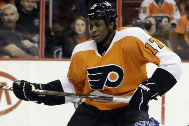 Wayne Simmonds... (Photo: AP)