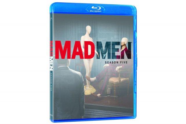 D'accord, la cinquième saison de Mad Men (13 épisodes en anglais avec...