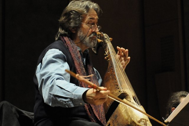 Le célèbre gambiste Jordi Savall et son ensemble... (Photo: archives La Presse)