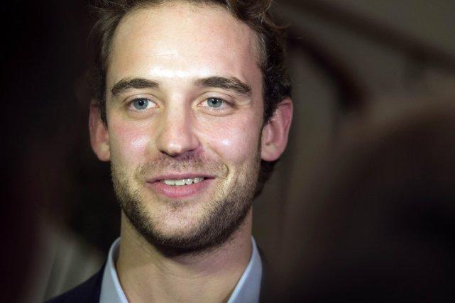Le Suisse Joël Dicker... (Photo: archives AFP)