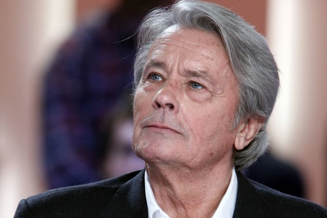 Alain Delon... (Photo: AFP)