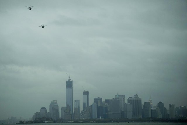 En fait, plusieurs New-Yorkais ont vécu hier leur... (PHOTO KARLY DOMB SADOF AP)
