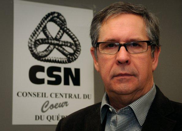 Alex Levasseur est le président du Syndicat des... (Photo: François Gervais)