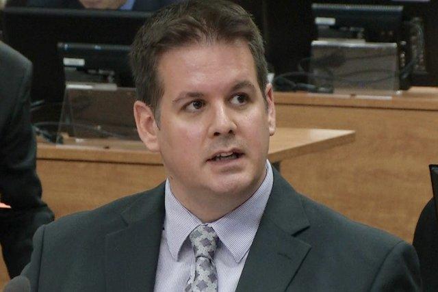 Martin Dumont a notamment affirmé que le maire... (Image vidéo)
