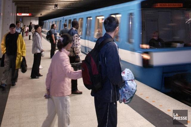 Métro de Montréal.... (Photo: Alain Roberge, La Presse)