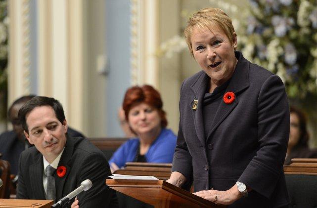 La première ministre du Québec, Pauline Marois.... (Photo: Reuters)