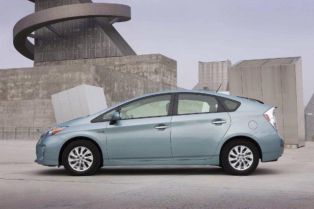 La Prius hybride.... (Photo fournie par Toyota)