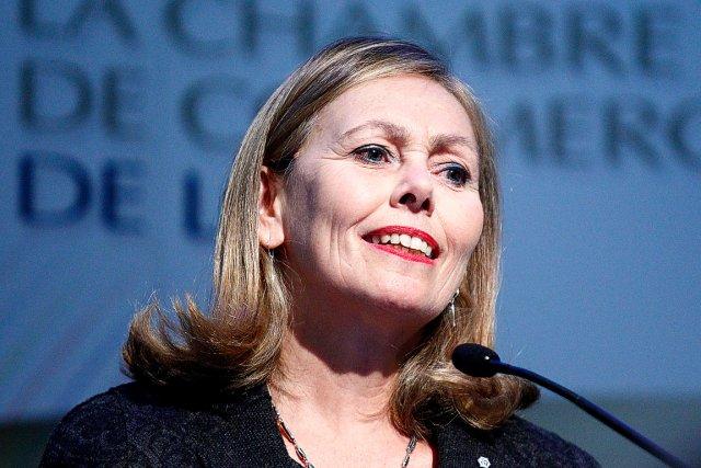 Monique F. Leroux, présidente et chef de la... (Photothèque Le Soleil)