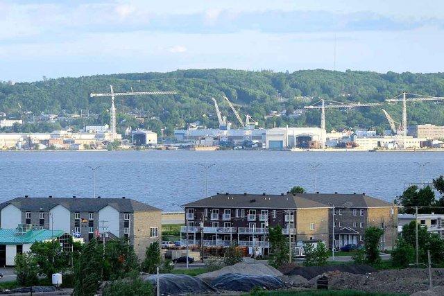Le chantier maritime Davie... (Le Soleil, Patrice Laroche)