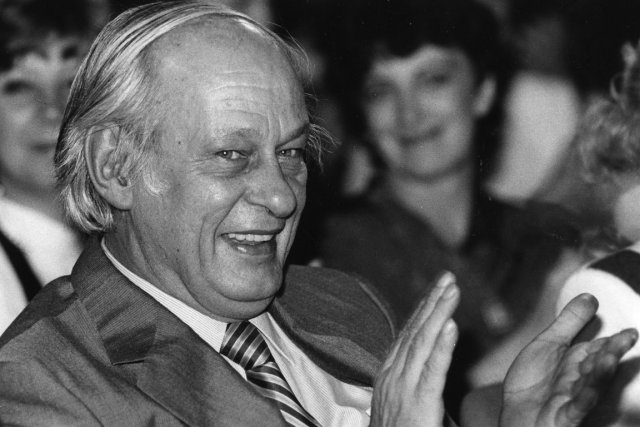 René Lévesque en 1986.... (Photo archives La Presse)