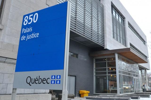 Le palais de justice de Trois-Rivières.... (Photo: Émilie O'Connor)