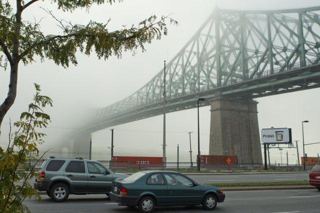 Le secteur du pont Jacques-Cartier se transformera en... (Photo Martin Chamberland, La Presse)