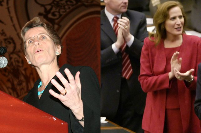 Kathleen Wynne et Sandra Pupatello... (Archives, La Presse Canadienne)