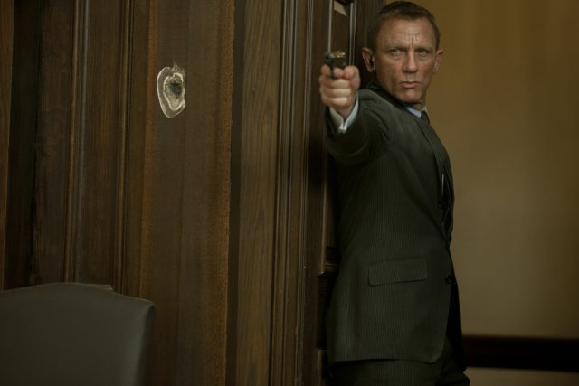 Dans ce 23e épisode, 007 n'a plus grand-chose... (Photo: fournie par Sony Pictures)