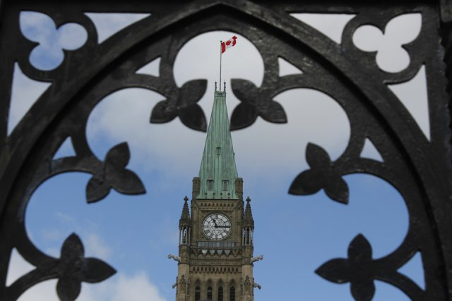Parlement à Ottawa.... (PHOTO ÉTIENNE RANGER, LE DROIT)