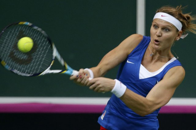 Lucie Safarova a facilement vaincu la Serbe Jelena... (Photo : Petr David Josek, AP)