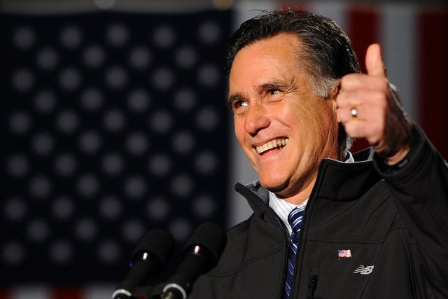 Mitt  Romney... (Photo: AFP)
