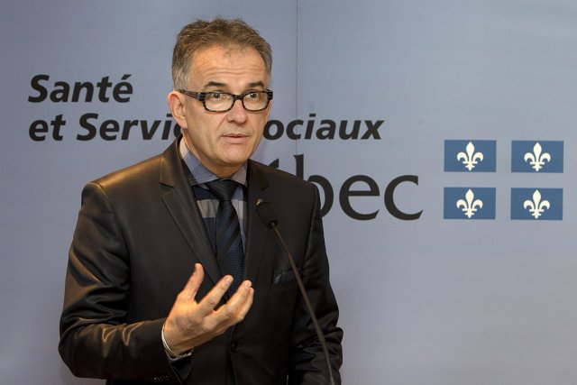 Le ministre Réjean Hébert affirme que la réduction... (Photo: Robert Skinner, La Presse)