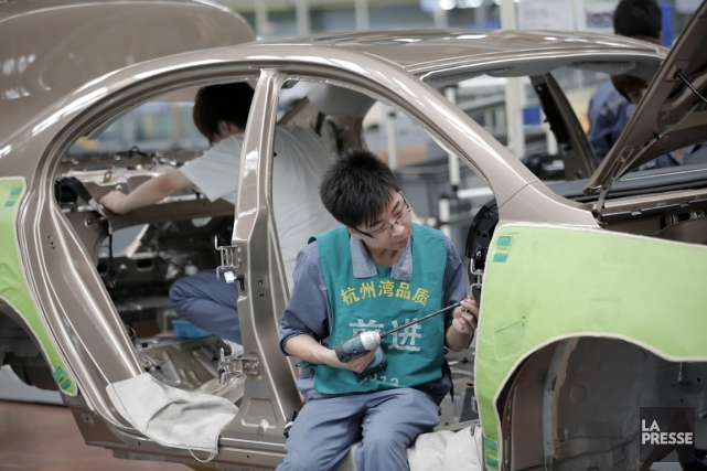 L'indice PMI des directeurs d'achat calculé par HSBC... (Photo Associated Press)