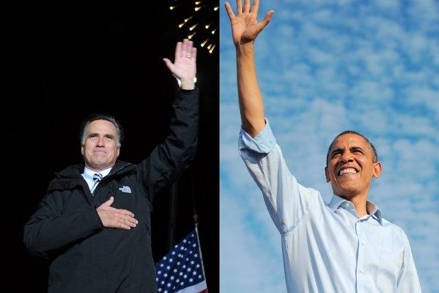 À 48 heures du vote, le candidat républicain... (PHOTOS AFP)