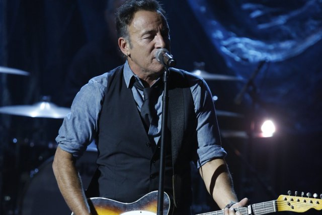 Bruce Springsteen au concert bénéfice Hurricane Sandy: Coming... (Photo: fournie par NBC)