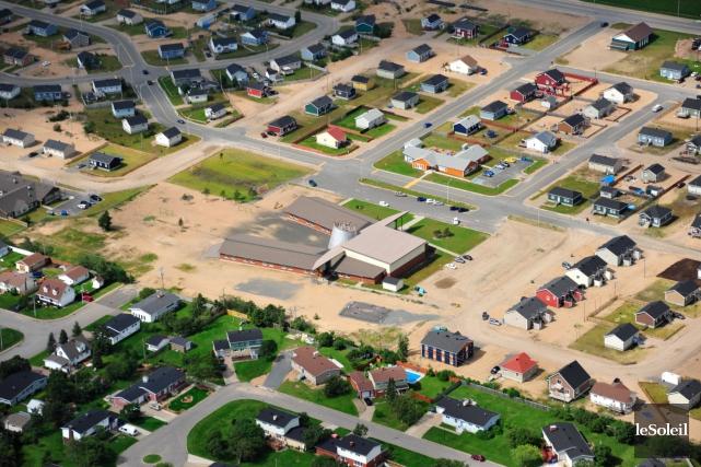 Vue aérienne du nouveau quartier de la réserve... (Photothèque Le Soleil)