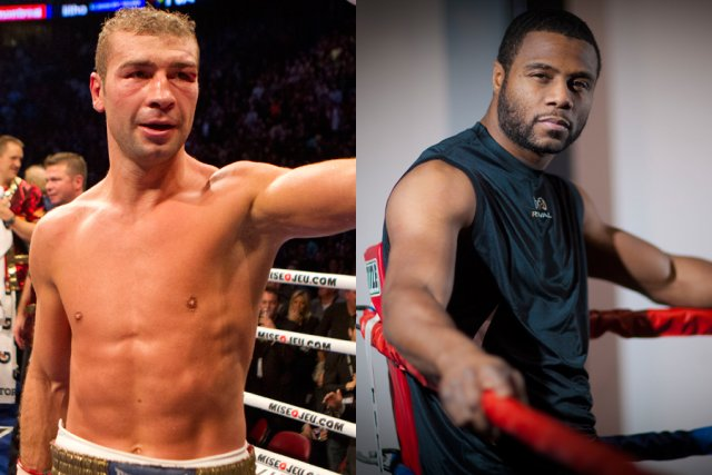 Lucian Bute (à gauche) a battu Denis Grachev... (Photos archives La Presse)