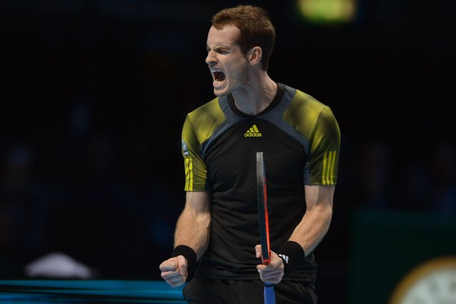 Andy Murray... (Photo: AFP)