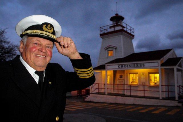 Le capitaine Luc Harvey a décidé que l'heure... (Photo: François Gervais)