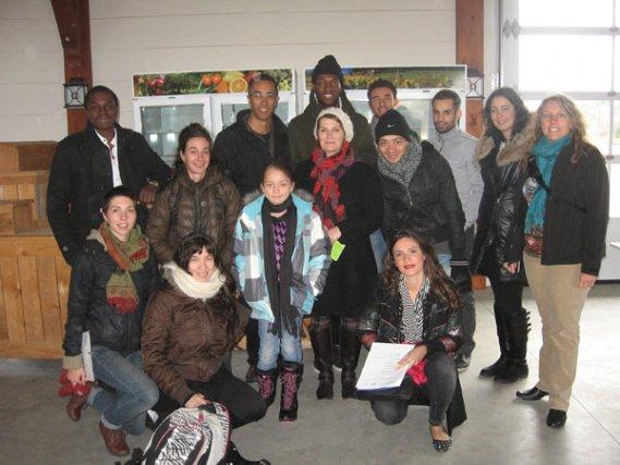 Une douzaine de jeunes ont participé au séjour exploratoire de Places aux... (Jessy Laflamme, LeDroit)